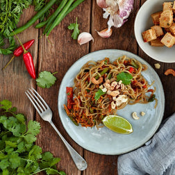 Cashew & Sesame Sweet Potato Noodles