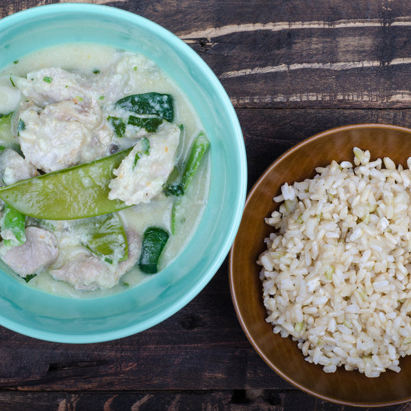 Thai Green Chicken & Vegetable Curry