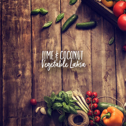 Lime & Coconut Vegetable Laksa