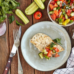 Grilled Chicken W/ Northern Greek Salad