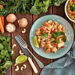 Vegetable & Cashew Massaman Curry W/ Quinoa
