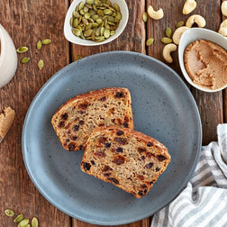 Wholemeal Fruit Toast & Cashew Butter