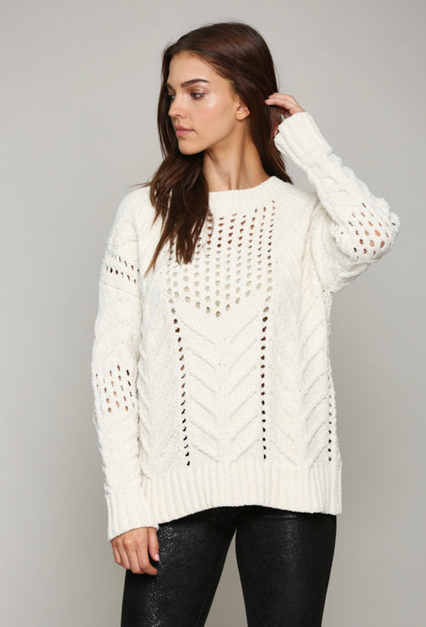 Cream Chenelle Sweater
