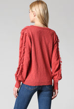 Load image into Gallery viewer, Light Weight Fringe Sweater