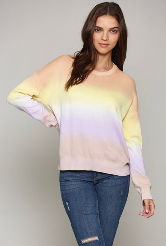 Pullover Multi Color Sweater
