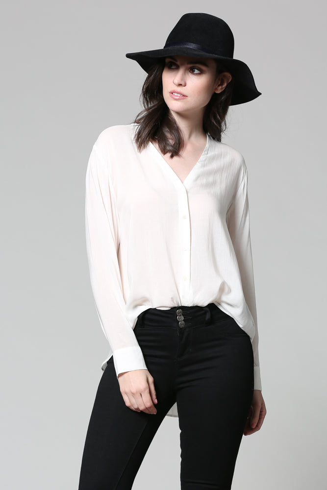 Easy Button Up Blouse