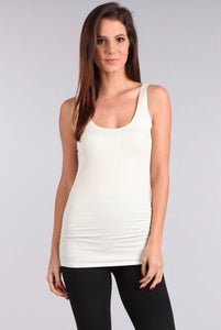 Off White Layering Tank
