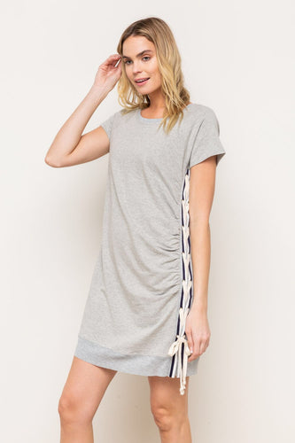 Short Sleeve Terry Dress