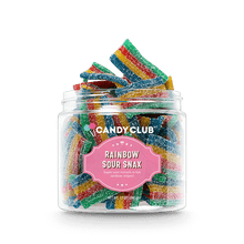 Load image into Gallery viewer, Rainbow Sour Belts - Candy Club