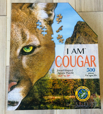 I Am Cougar-300 piece puzzle