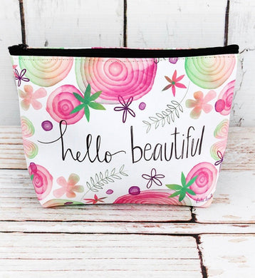 Sturdy Canvas Cosmetic Bags