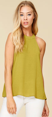 Staccato High Band Neck Tank Top