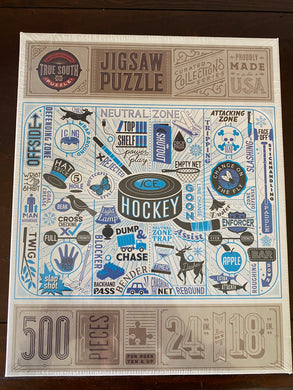 Jigsaw Puzzle - Hockey Theme