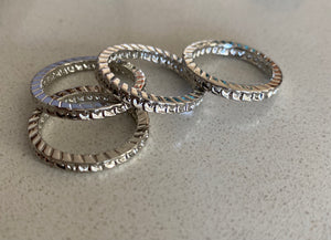 Silver Stacker Band