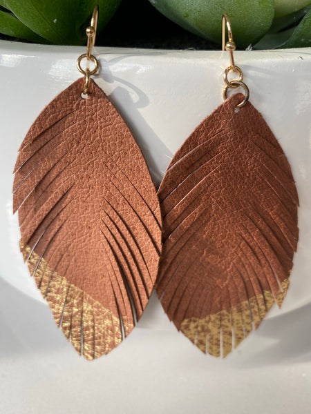 Gold Dipped Earrings
