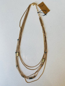 Joy Susan Multi Chain Necklace