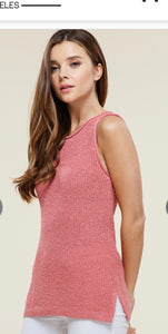 Staccato Sleeveless Sweater