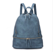 Load image into Gallery viewer, Blake Vegan Leather Backpack