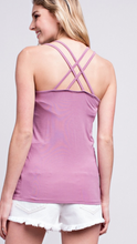 Load image into Gallery viewer, Bamboo Strappy Camisole Tank Top
