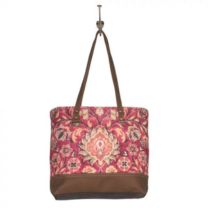 Blossomy Pink Tote Bag