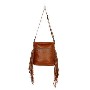 Fashion Creed Leather and Hairon Bag