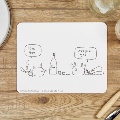 Vodka Rabbits Place Mat