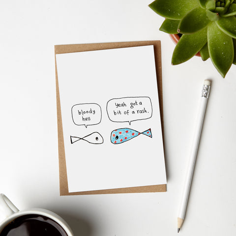 Fish Rash Card