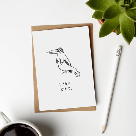 Lady Bird Card