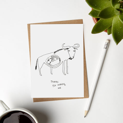 Buffalo Mother Card