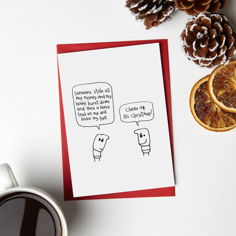 Xmas Cheer Up Card