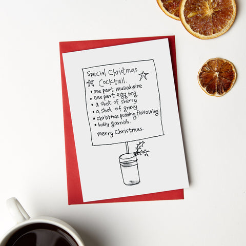 Xmas Cocktail Card