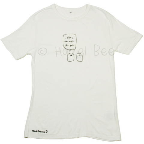 More Like You Blobs Bamboo Tee Shirt