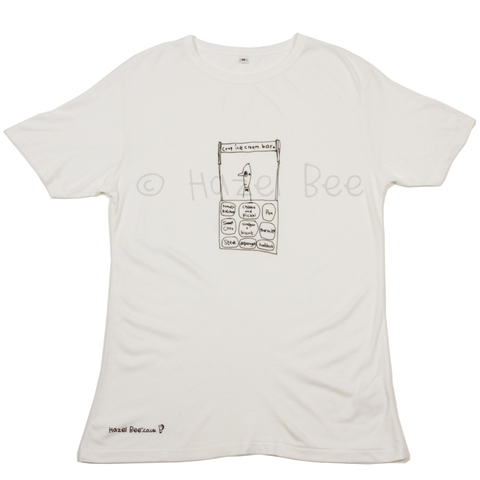 Crap Ice-cream Bar Bamboo Tee Shirt