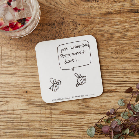 Bee Sting Coaster