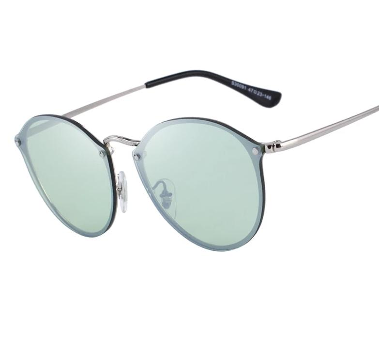Classic Retro Oval Sunglasses