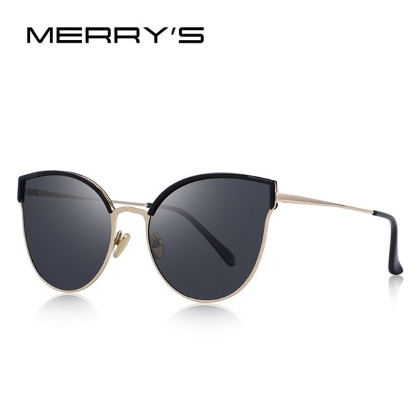 Designer Cat Eye Polarized Sunglasses