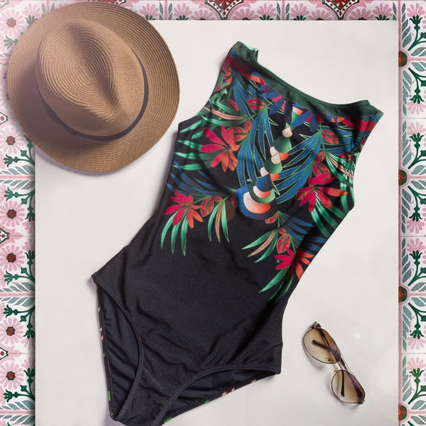 Women's Print One-piece Swimsuits