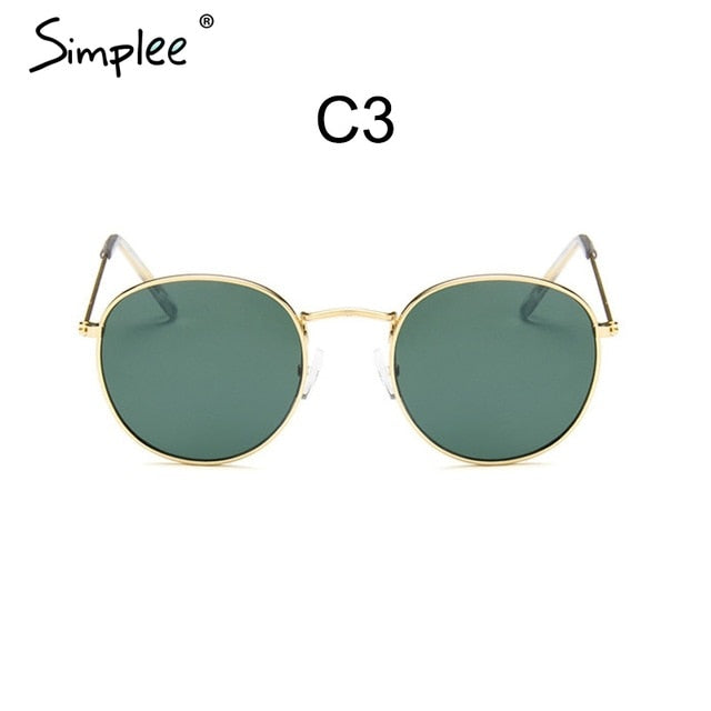 Simplee Fahsion vintage sunglasses