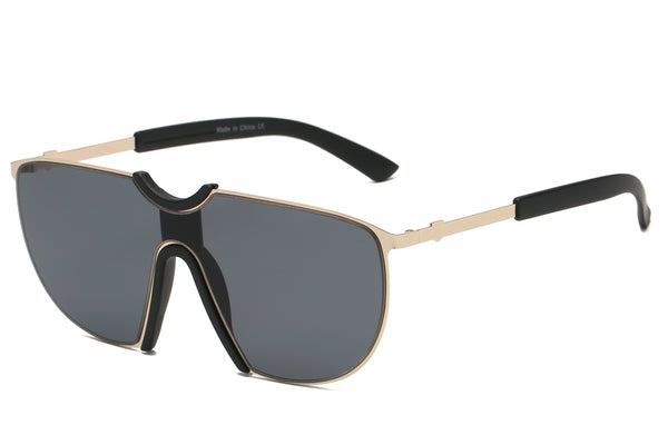 Men Oversized Aviator Sunglasses