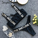 Two-piece bodysuit women casual swimwear