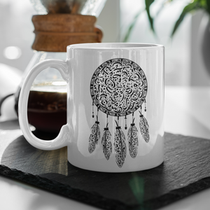 Mug with Arabic letters