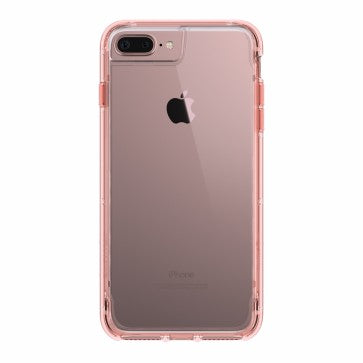 Griffin Survivor Case iPhone 8 Plus Clear-Pink