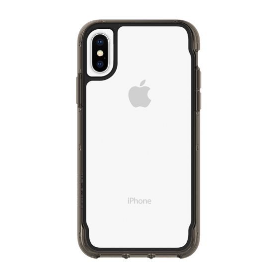 Griffin Survivor Case iPhone XS Clear-Black