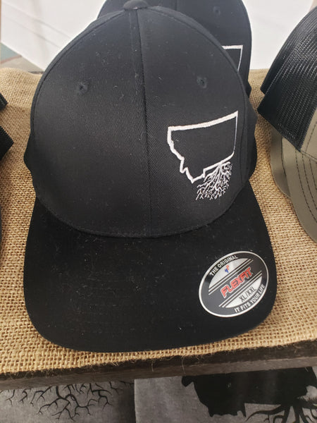 Montana Roots Fitted Hat