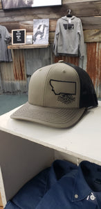 MT Roots Olive Blk Trucker Snapback