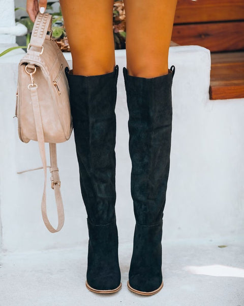 Saint Slouch Boot- Black