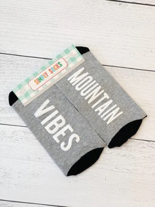 Simply Southern Mountain Vibes Non Slip Socks