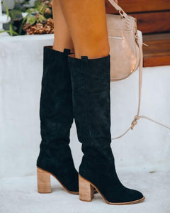 PREORDER Saint Slouch Boot- Black