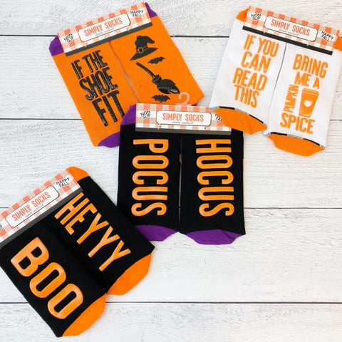Simply Southern Halloween Non Slip Socks