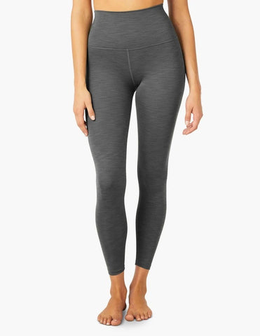 Beyond Yoga Heather Rib High Waisted Midi Legging